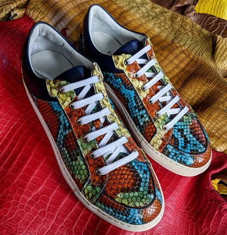 Ascot Sneakers - Chilean Python