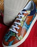 Ascot Sneakers - Chilean Python - Ascot Shoes