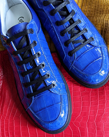 Ascot Sneakers - Electric Blue
