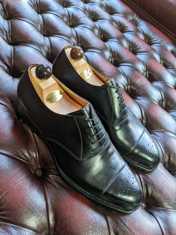 Vass Oxford - Black Calf, UK 11, F last