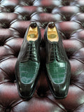 Ascot Kaan - Green Crocodile & Green Museum, UK 8, U last - Ascot Shoes