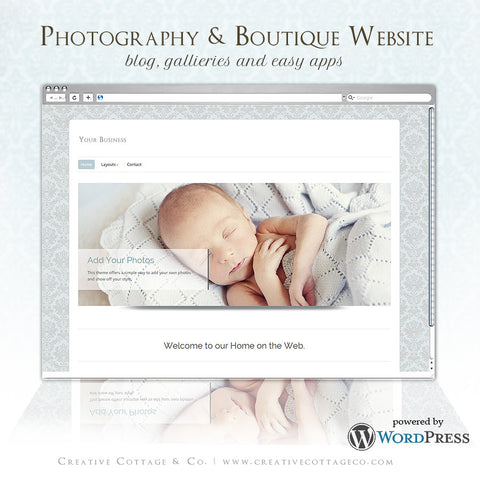 Wordpress Theme- Heavenly