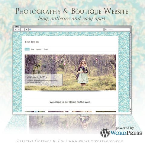 Wordpress Theme- La Belle Fleur
