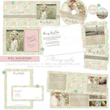 Vintage Floral and Lace Photography Marketing Kit