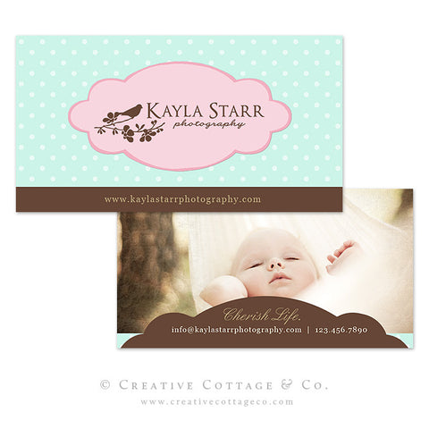 Polka Dot Boutique Business Card