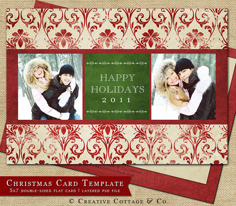 Christmas Card Template- Jubilee