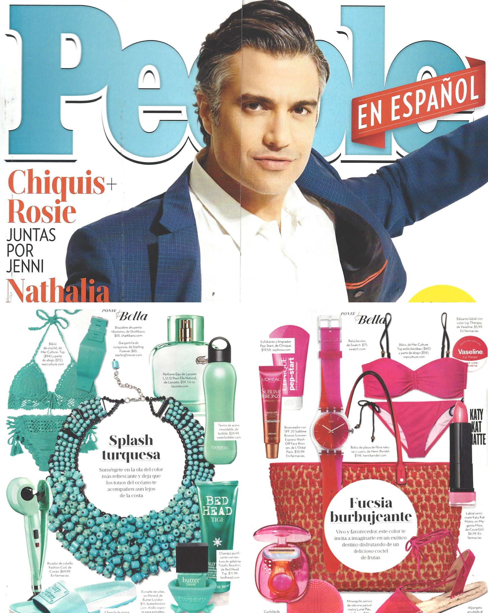 People En Español, August 2016