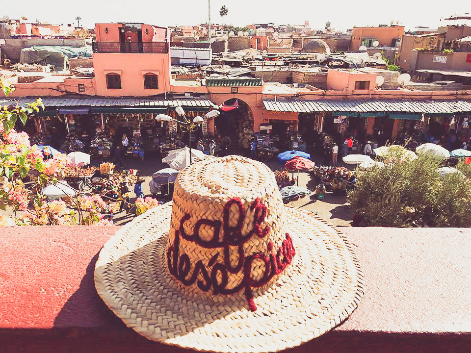 souk market from above Marrakech | Jamaa el-Fnna | Travel Guide | Marrakesh Shopping | Morocco