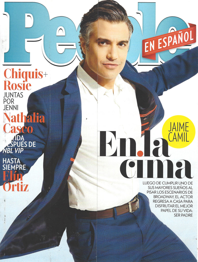 People en Espanol USA | Jaime Camil Cover | Press | Mer Culture swimwear