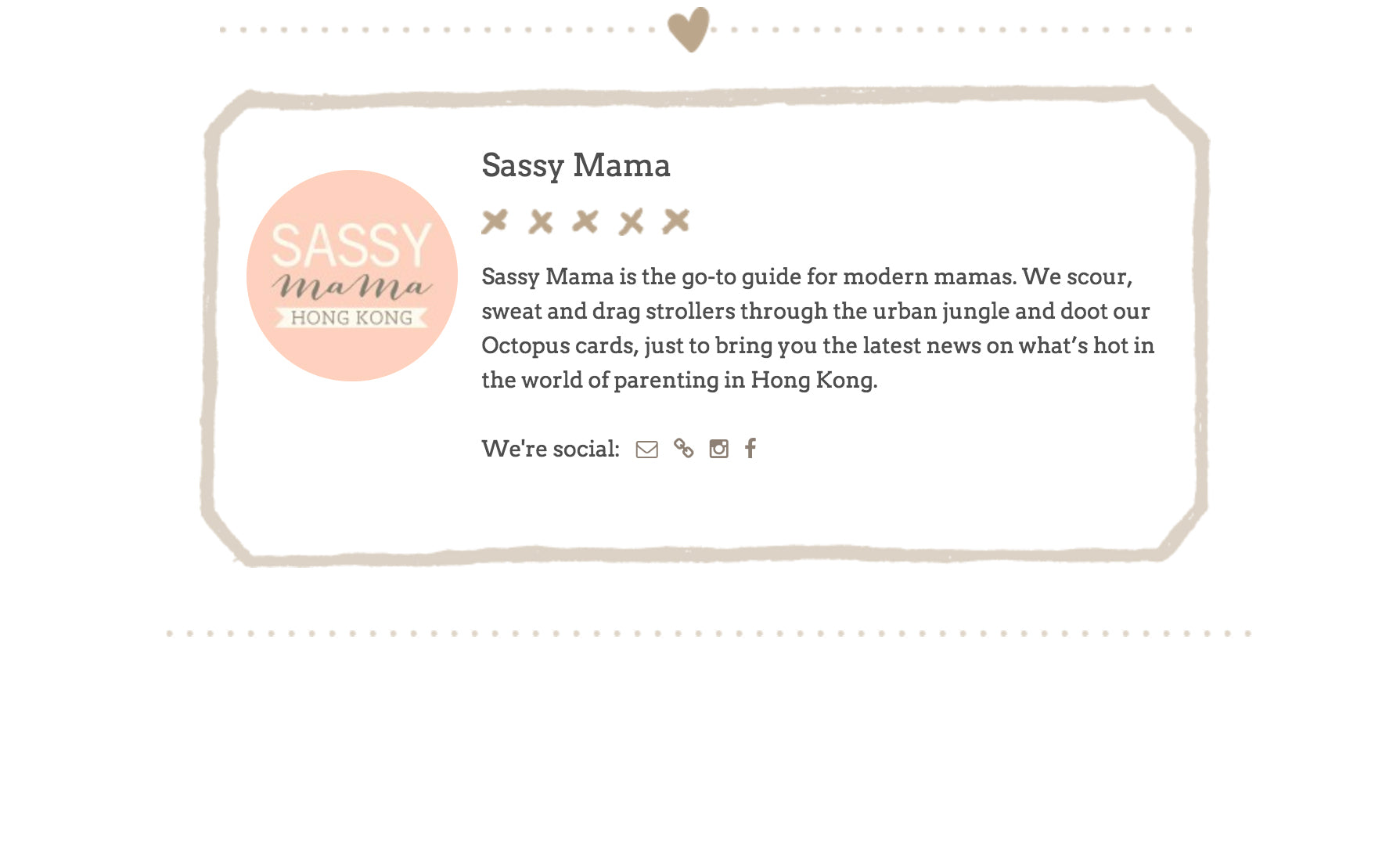 Sassy Mama Hong Kong article | Press | Mer Culture swimwear | new brands we love for summer