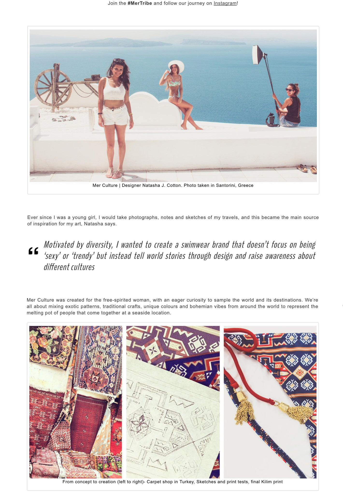 Style by Asia article | Press | Mer Culture swimwear | Hong Kong | creative process