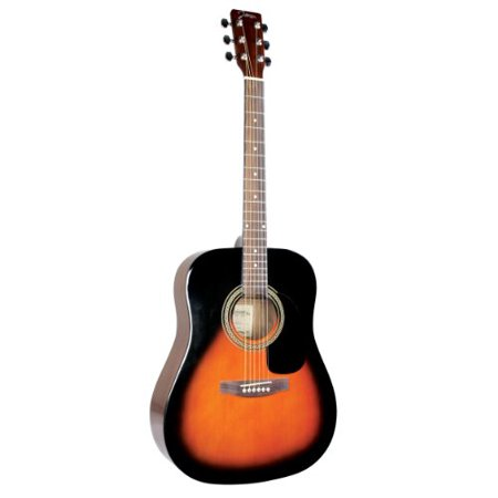 JOHNSON JG620 DREADNAUGHT - SUNBURST