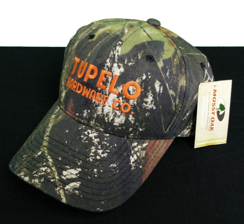 Tupelo Hardware Co. Mossy Oak Camo Cap