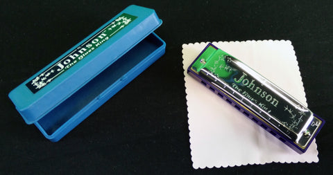 "Johnson ""The Blues King"" Harmonica (D Flat)"