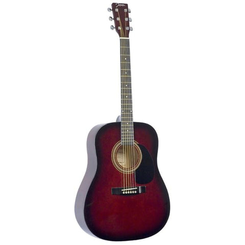 JOHNSON JG610 - 4/4 SIZE - RED