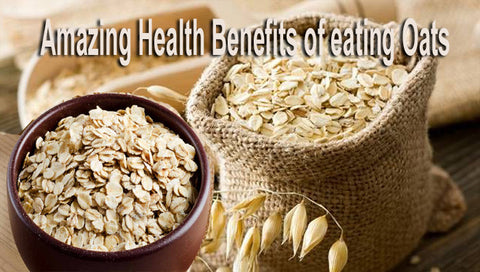 Amazing Health Benefits of Eating Oats