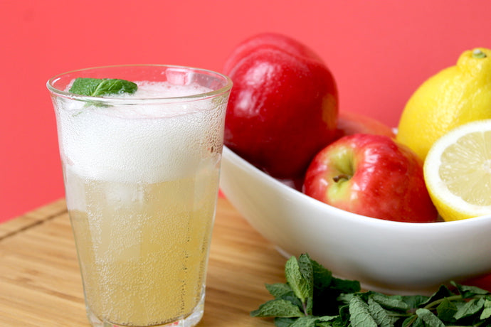Apple-Mint Sparkling Punch