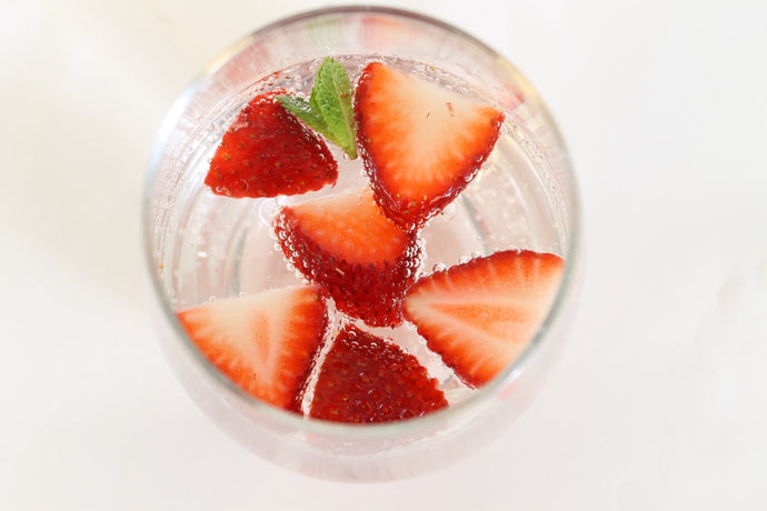 Infuse Fresh Spring Strawberries to Replace Soda with Delicious!