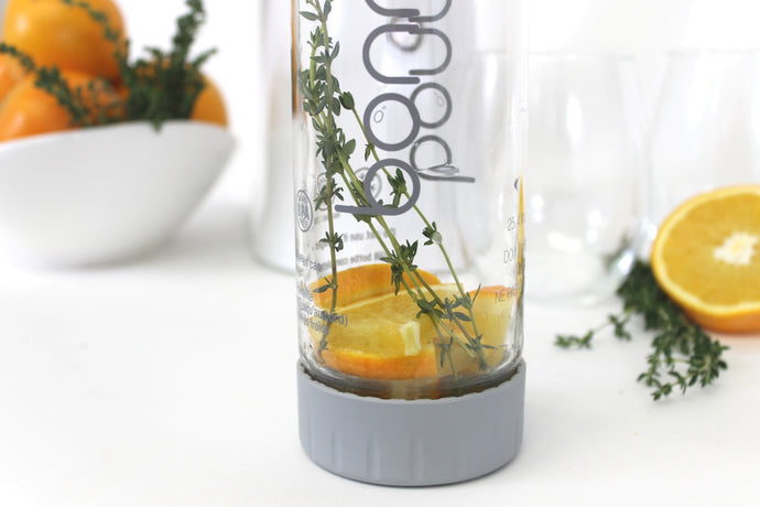 Make Hydration Delicious with Infused Orange & Thyme