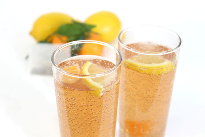 Lemon Zinger Sparkling Tea - No Sugar, No Caffeine, Just Incredible Taste