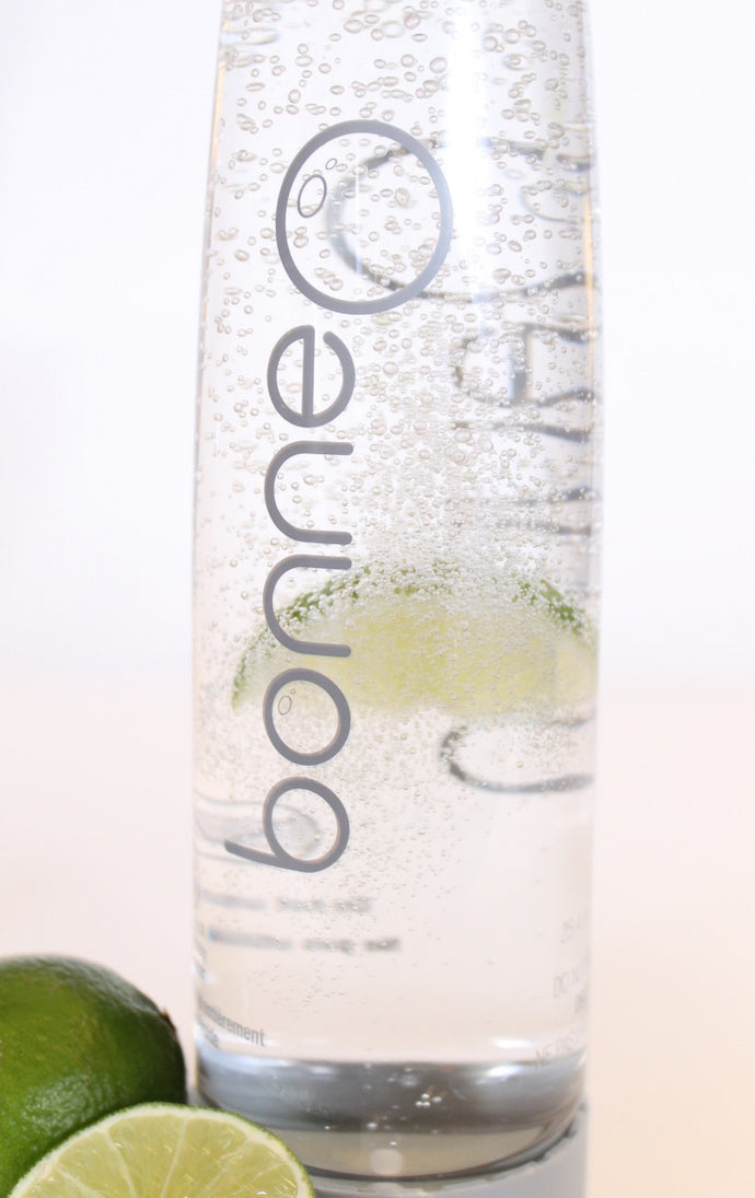Start Your New Year Fresh & Natural - Lime Infused Sparkling Water