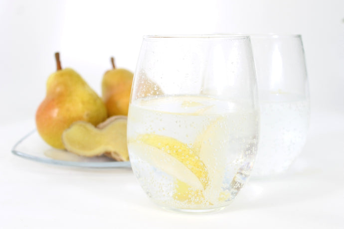 Infuse Summer's Harvest into Your Glass - Pear Ginger Sparkling Water