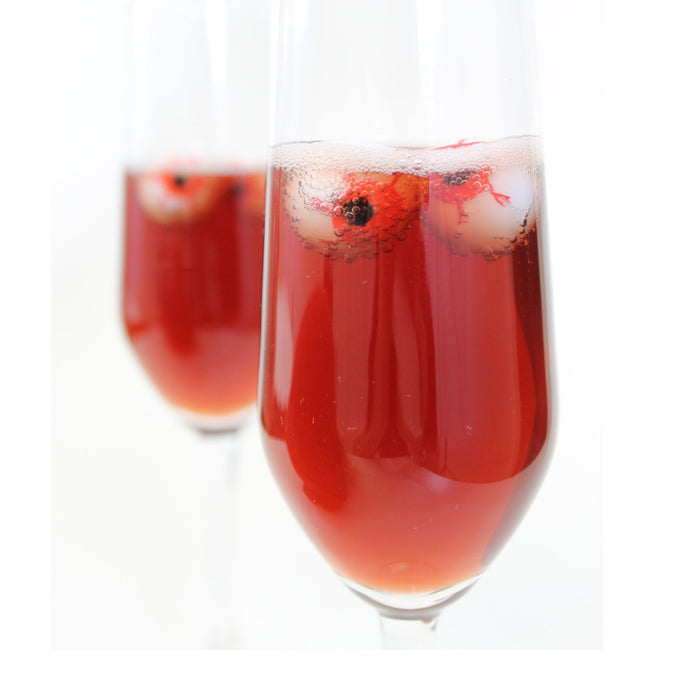 Spooky Sparkling Wine - A Halloween Treat!
