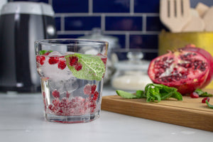 Mint & Pomegranate Sparkling Water