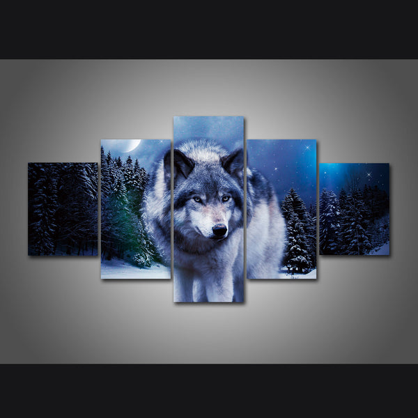 Wolf Canvas Wall Art Collection