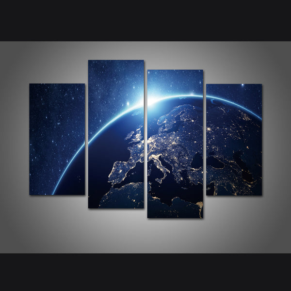 Space Lovers Canvas