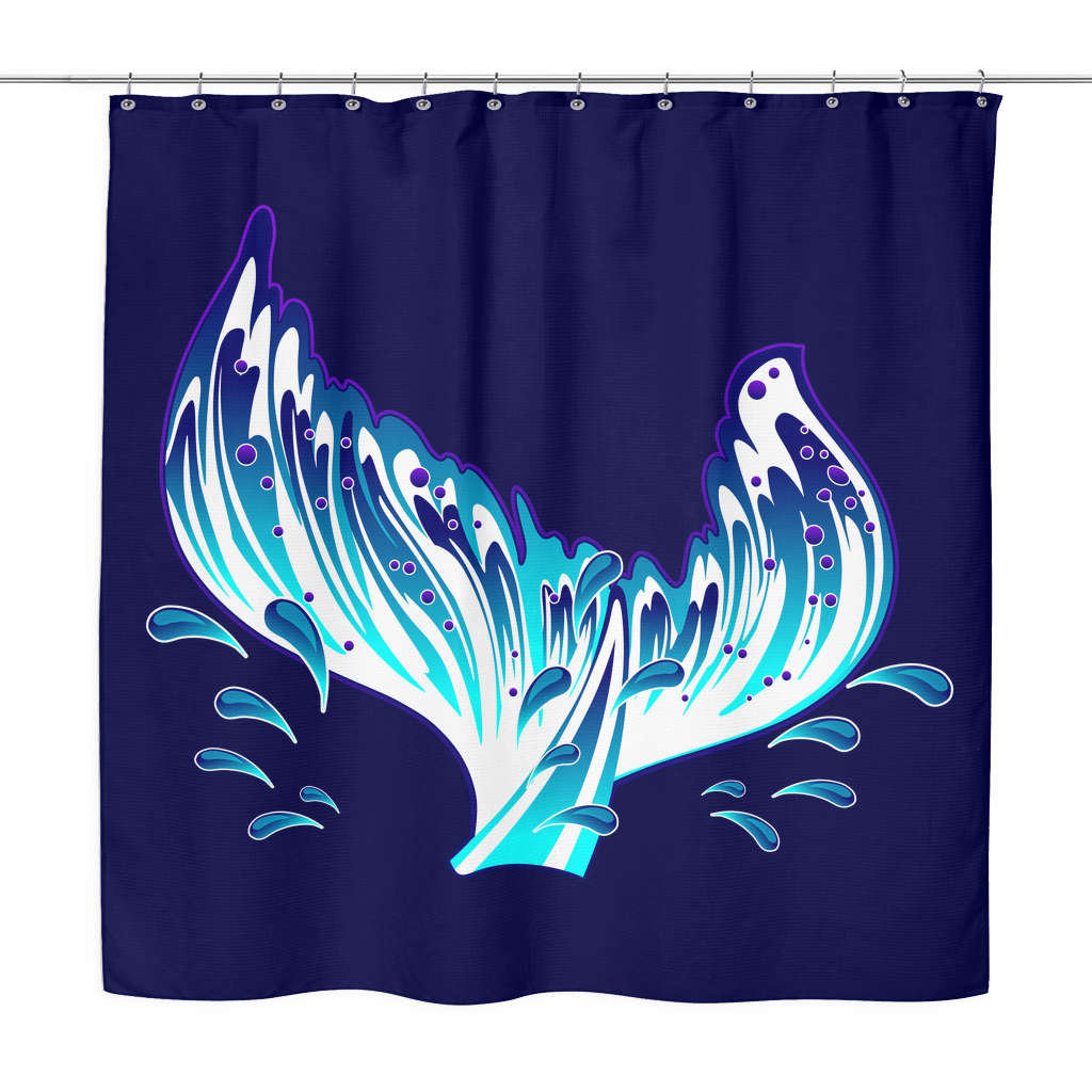 Mermaid shower curtains - Secretly I M A Mermaid Shower Curtain