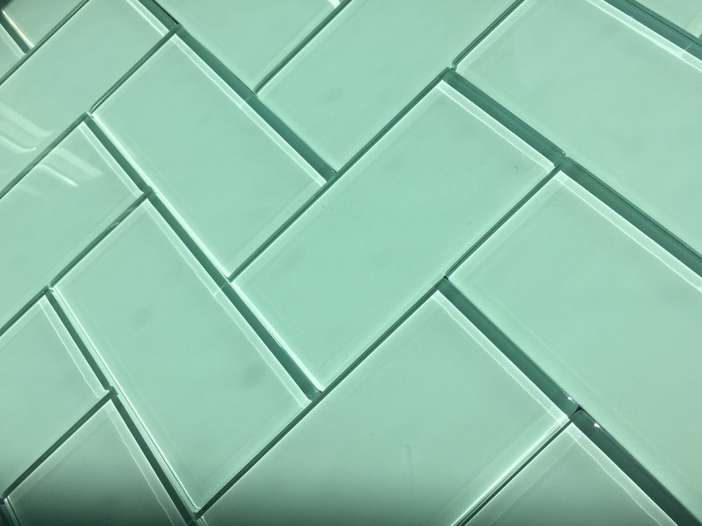 3X6 Glass Subway Tile Installation Patterns – Vicci Design