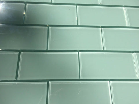 3x6 Glass Subway Tile Installation Patterns Vicci Design
