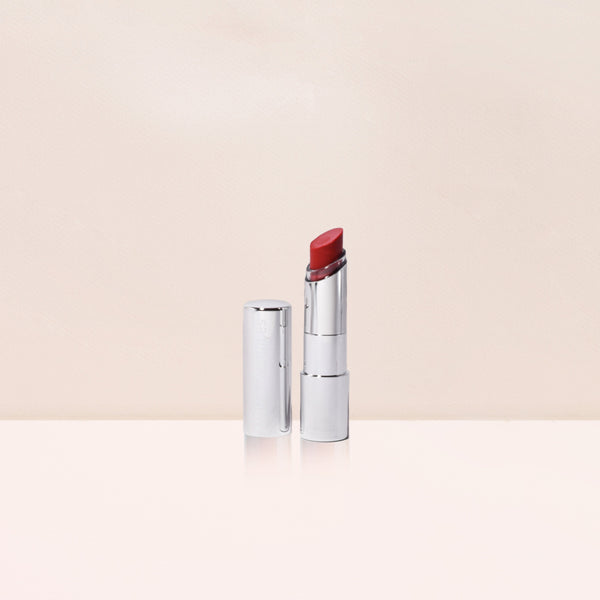 Hydrating Sheer Lip Balm SPF 30 in Red, in a holiday bag MDSolarSciences™
