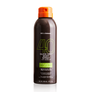 Quick Dry Body Spray SPF 40 suncare MDSolarSciences™