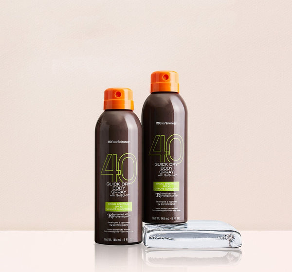 Duo Quick Dry Spray suncare MDSolarSciences™