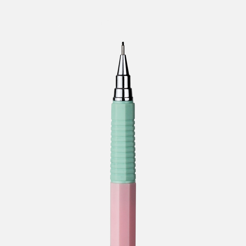 Retro Mechanical Pencil - Green & Pink