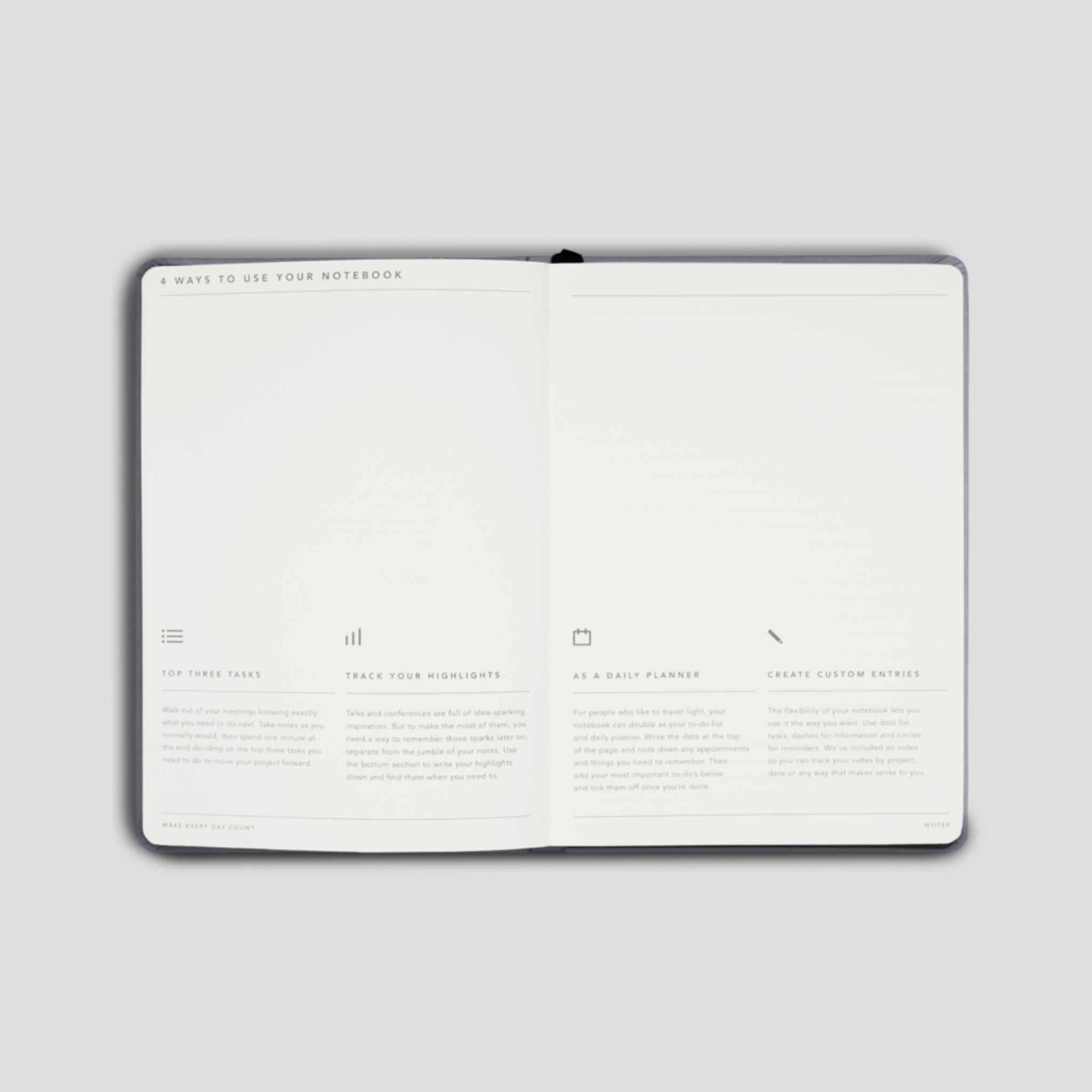 Notes Journal - Black
