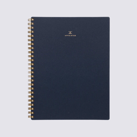 Workbook - Oxford Blue