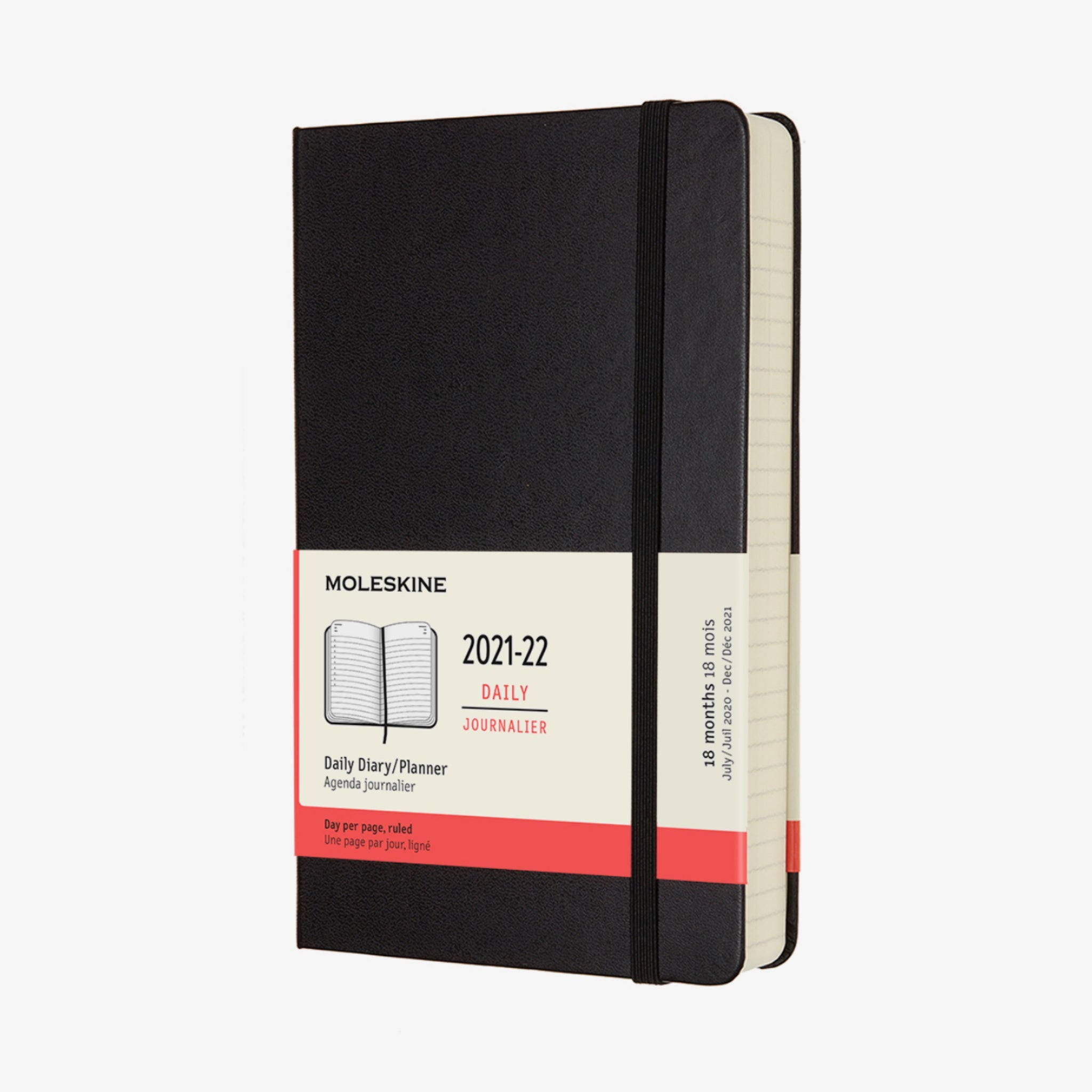 2021/22 Daily Academic Diary - Black