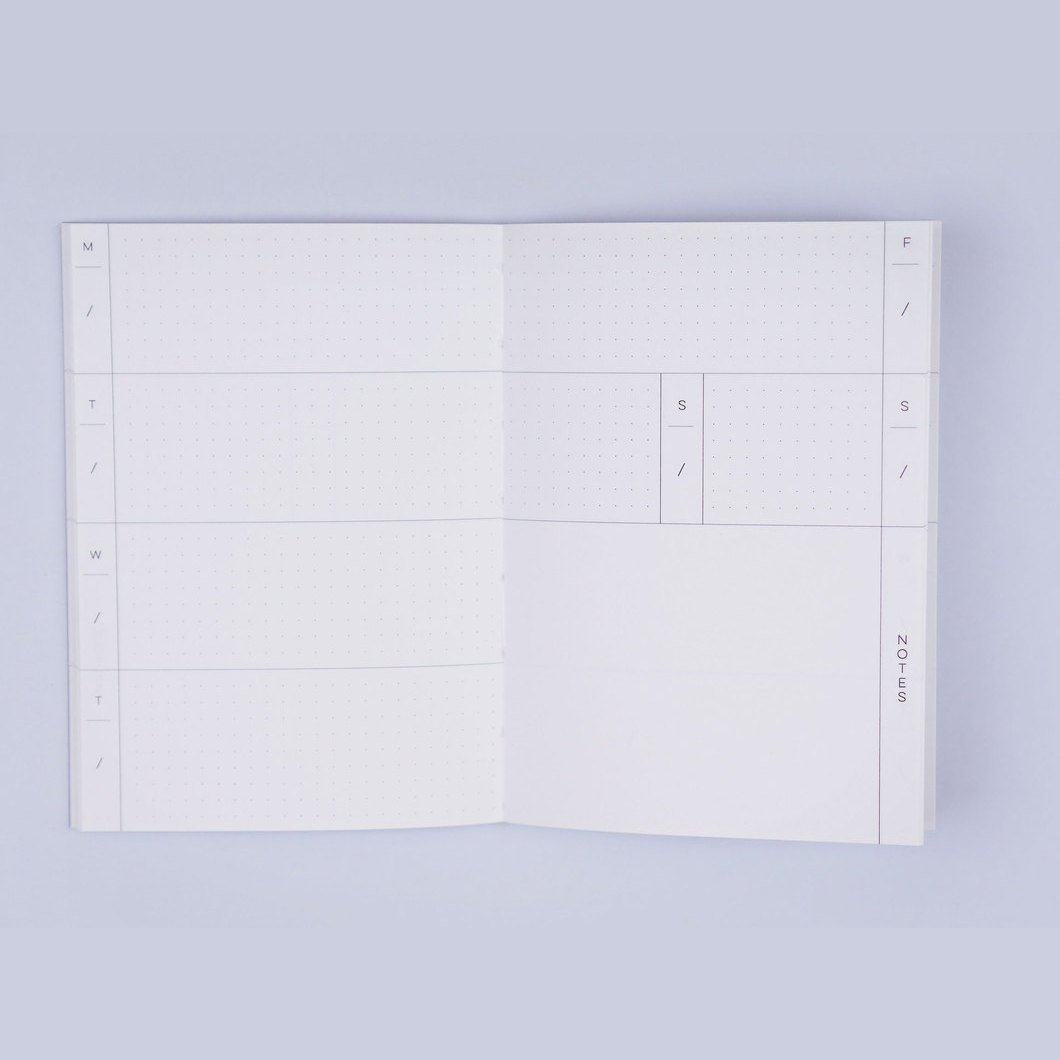 Weekly Pocket Planner - Shapes No 1