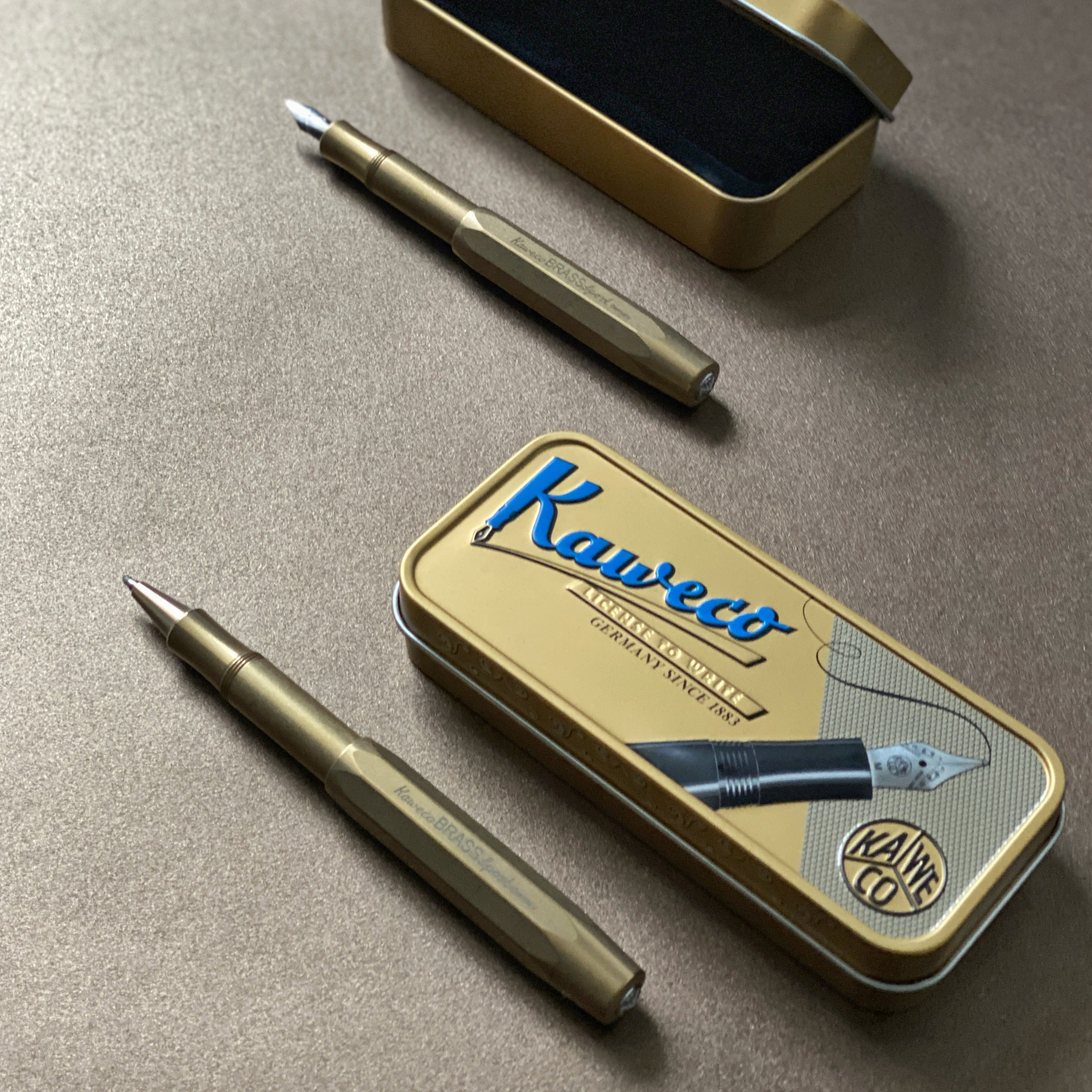 Sport Fountain Pen - Brass