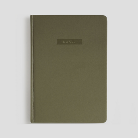 Goals Journal - Khaki