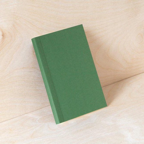 Pocket Layflat Weekly Planner - Forest Green and Rust