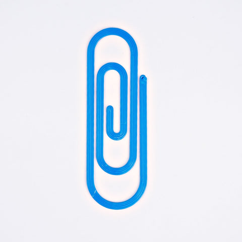 Paperclip Bookmark - Blue