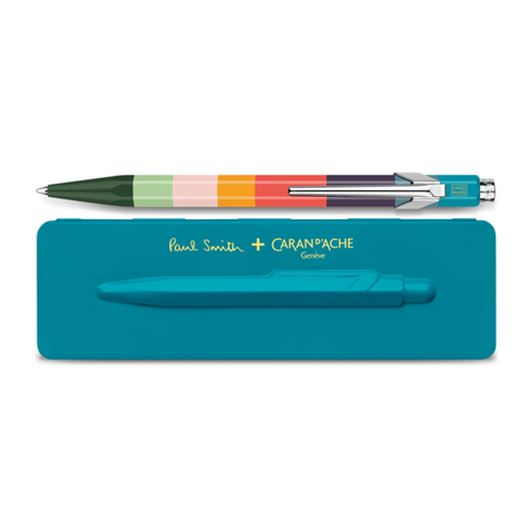 Paul Smith 849 Ballpoint - Peacock Blue
