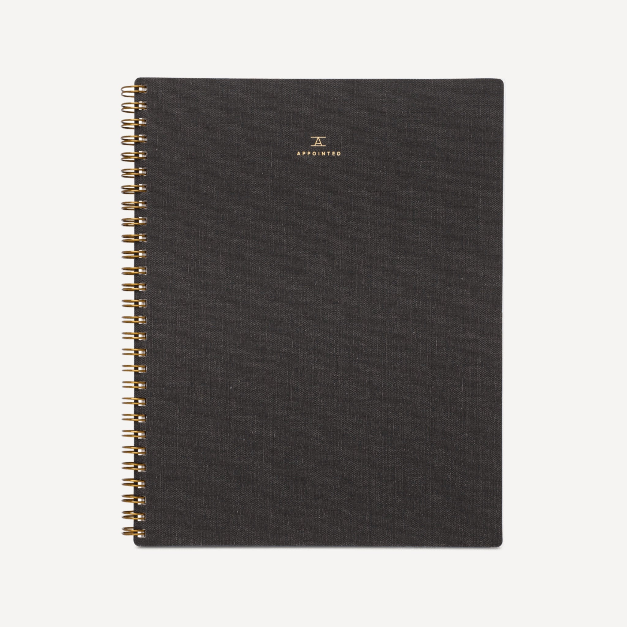 B6 Notebook - Charcoal Grey