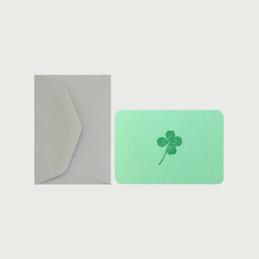 Mini Card - Clover