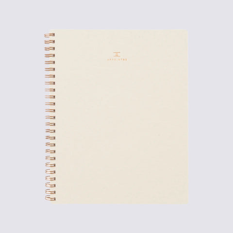 Workbook - Natural Linen