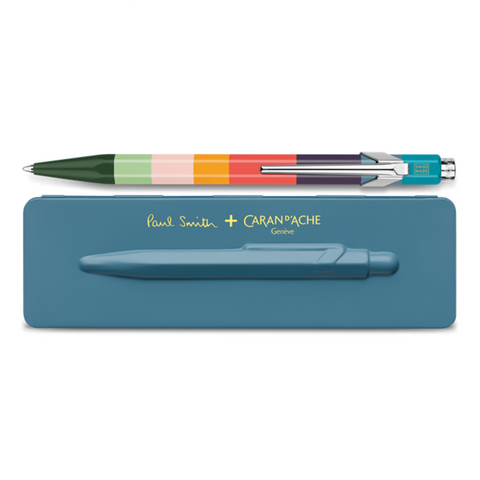 Paul Smith 849 Ballpoint - Petrol Blue